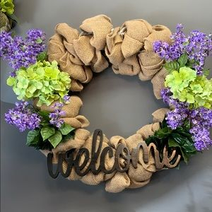 Other - Burlap Wreath